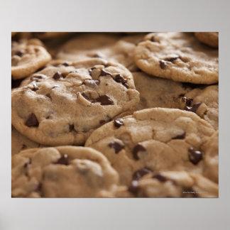 USA, Utah, Lehi, Chocolate cookies Poster