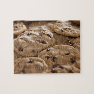 USA, Utah, Lehi, Chocolate cookies Puzzle