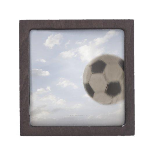 USA, Utah, Lehi, Soccer ball against sky Gift Box