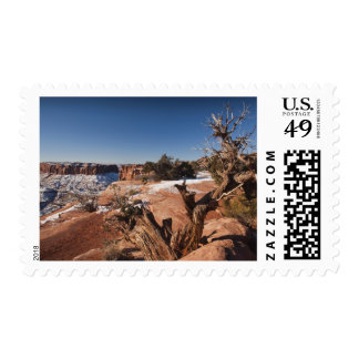 USA, Utah, Moab. Canyonlands National Park, Postage Stamps
