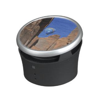 USA, Utah, Monument Valley. A rainbow hot-air Speaker