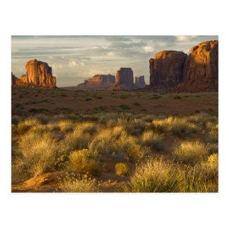 USA, Utah, Monument Valley National Park. Postcard