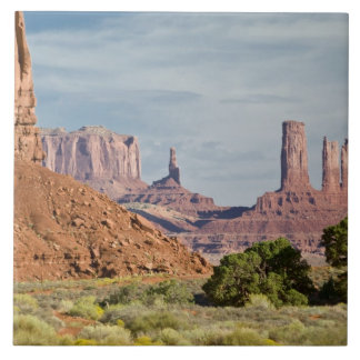 USA, Utah, Monument Valley Navajo Tribal Park. Ceramic Tile