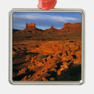 USA, Utah, Monument Valley. Sunset light Ornament