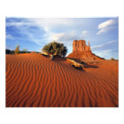 USA, Utah, Monument Valley. Wind creates Photo Print