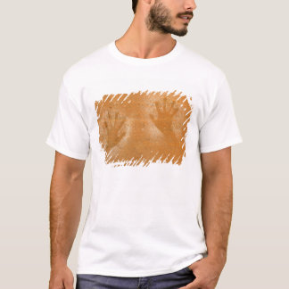 USA, Utah, Pictograph Hand-prints on sandstone, T-Shirt