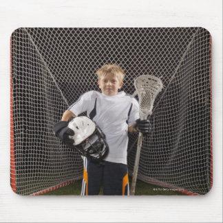 USA, Utah, Provo, Portrait of junior (6-7) Mouse Pad