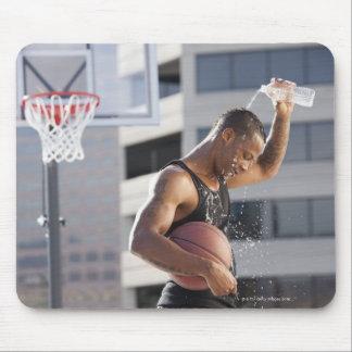 USA, Utah, Salt Lake City, basketball player Mousepads