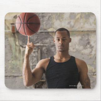 USA, Utah, Salt Lake City, Portrait of young man Mouse Pad