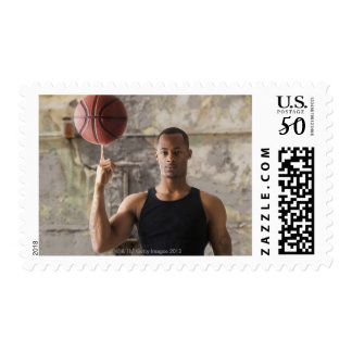 USA, Utah, Salt Lake City, Portrait of young man Postage