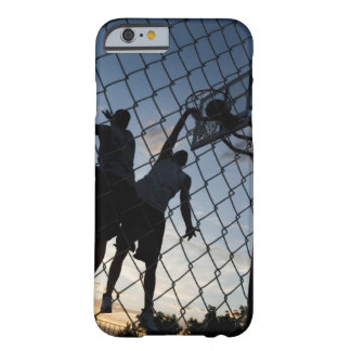 USA, Utah, Salt Lake City, two young men playing 2 Barely There iPhone 6 Case