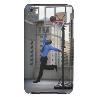 USA, Utah, Salt Lake City, Young businessman iPod Touch Case-Mate Case