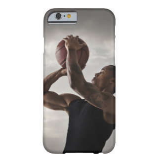 USA, Utah, Salt Lake City, Young man playing 2 Barely There iPhone 6 Case