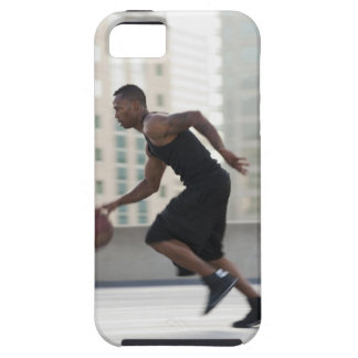 USA, Utah, Salt Lake City, Young man playing iPhone SE/5/5s Case