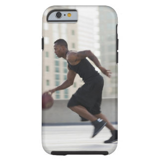 USA, Utah, Salt Lake City, Young man playing Tough iPhone 6 Case