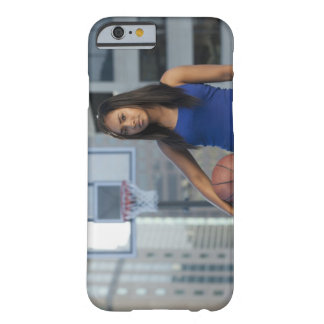 USA, Utah, Salt Lake City, young woman holding Barely There iPhone 6 Case