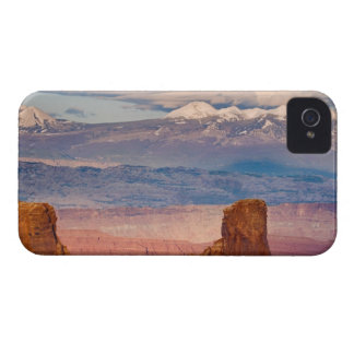 USA, Utah. Scenic of La Sal Mountains from Dead iPhone 4 Cover