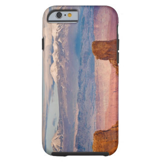 USA, Utah. Scenic of La Sal Mountains from Dead Tough iPhone 6 Case