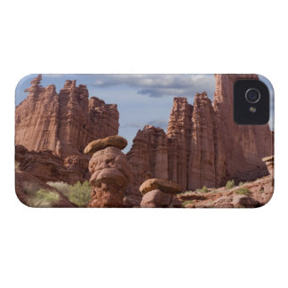 USA, Utah. View of Fisher Towers. Credit as: Don Case-Mate iPhone 4 Case