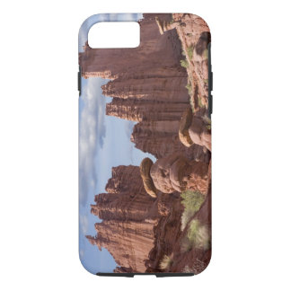 USA, Utah. View of Fisher Towers. Credit as: Don iPhone 7 Case