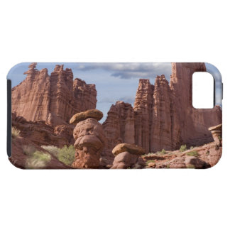 USA, Utah. View of Fisher Towers. Credit as: Don iPhone SE/5/5s Case