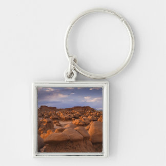 USA; Utah. View of Goblin Valley State Park at Keychain