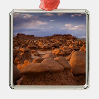 USA; Utah. View of Goblin Valley State Park at Metal Ornament