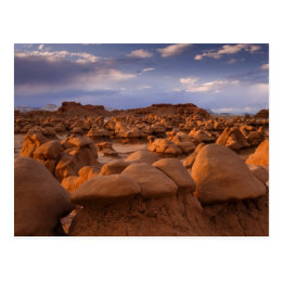 USA; Utah. View of Goblin Valley State Park at Postcard