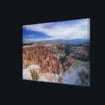 "USA, Utah, Winter Bryce Canyon, Inspiration Canvas Print<br><div class=""desc"">AssetID: CA00426 / Stan Osolinski / USA,  Utah,  Winter Bryce Canyon,  Inspiration Point</div>"