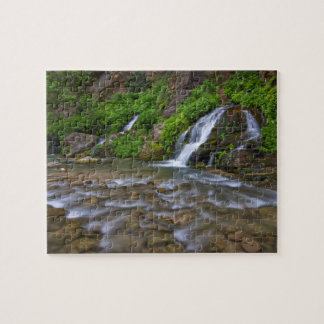 USA, Utah, Zion National Park.  Big Springs in Jigsaw Puzzle