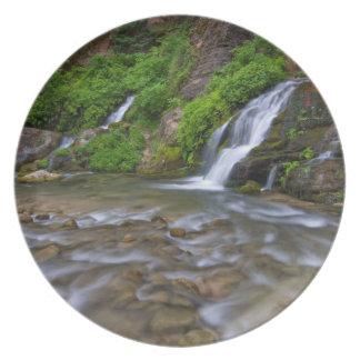 USA, Utah, Zion National Park.  Big Springs in Melamine Plate
