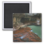 USA, Utah, Zion National Park. Scenic from 3 Refrigerator Magnet