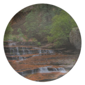 USA, Utah, Zion National Park.  Scenic from the Melamine Plate
