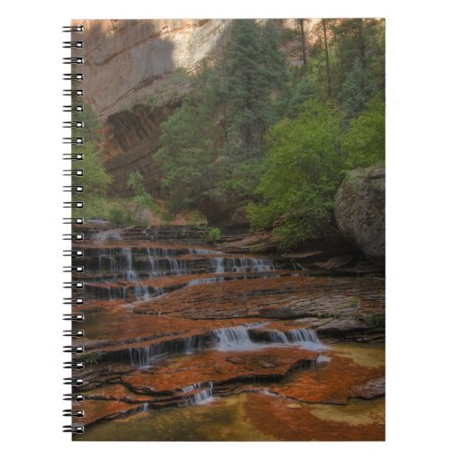 USA, Utah, Zion National Park.  Scenic from the Spiral Notebook