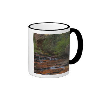 USA, Utah, Zion National Park.  Scenic from the Ringer Coffee Mug