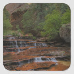 USA, Utah, Zion National Park.  Scenic from the Square Stickers