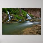 USA, Utah, Zion National Park. The Virgin Poster