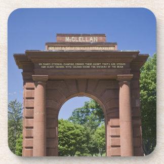 USA, VA, Arlington. McClellan Gate at Arlington Coaster