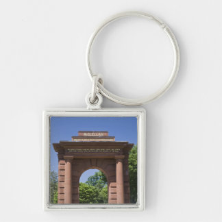 USA, VA, Arlington. McClellan Gate at Arlington Keychain