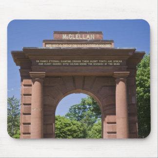 USA, VA, Arlington. McClellan Gate at Arlington Mouse Pad