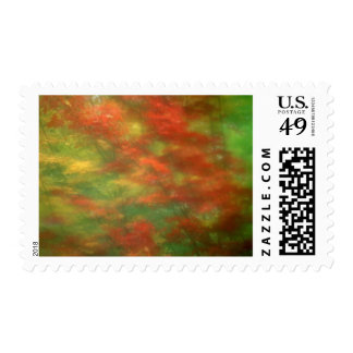 USA, Vermont. Abstract of maple trees seen Postage