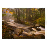 USA, Vermont, East Arlington, Flowing streams 2 Greeting Card