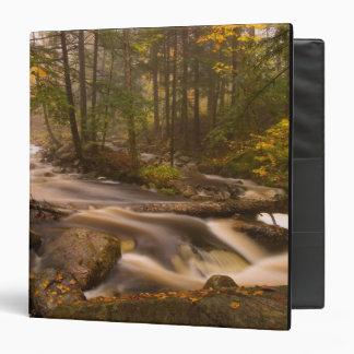 USA, Vermont, East Arlington, Flowing streams 2 Vinyl Binders
