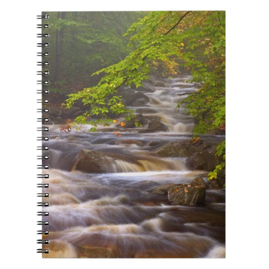 USA, Vermont, East Arlington, Flowing streams Notebook