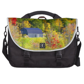 USA, Vermont. Fall foilage along Highway 100. Computer Bag