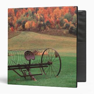 USA, Vermont, Farm. Binder