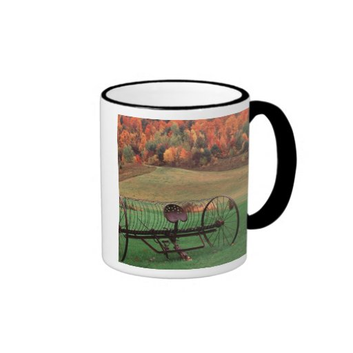 USA, Vermont, Farm. Ringer Mug