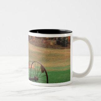 USA, Vermont, Farm. Two-Tone Coffee Mug