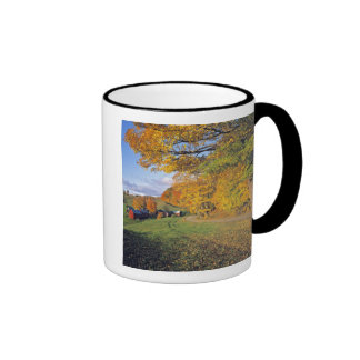 USA, Vermont, Jenne Farm. Fall comes to Jenne Ringer Coffee Mug