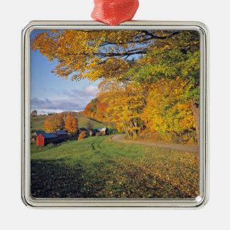 USA, Vermont, Jenne Farm. Fall comes to Jenne Ornaments